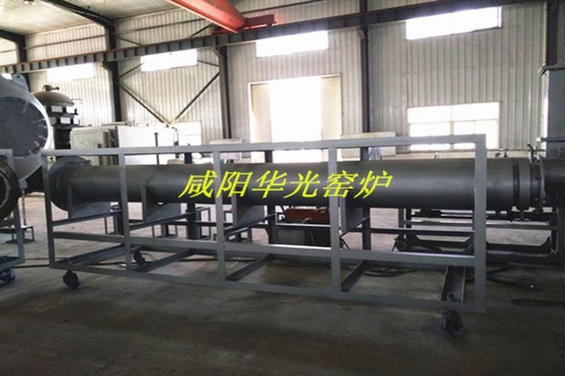 Continuous high temperature graphite vacuum heat treatment furnace atmosphere