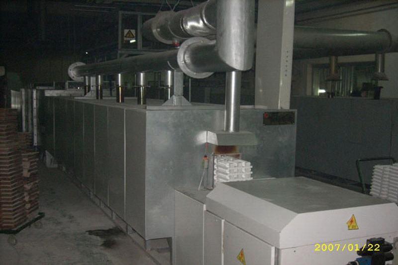 氧化铝陶瓷、氧化铝基板、氧化锆制品用推板炉