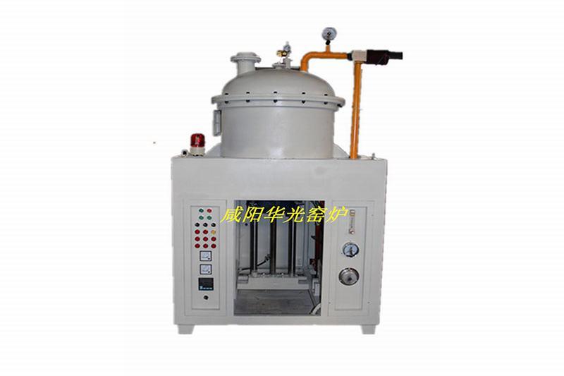 High temperature vacuum lifting furnace
