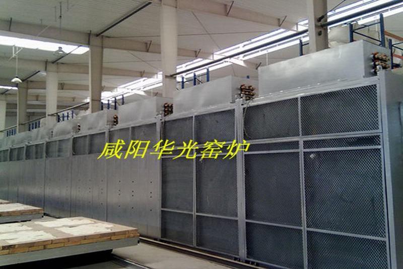 Pallet car cycling warm air drying furnace