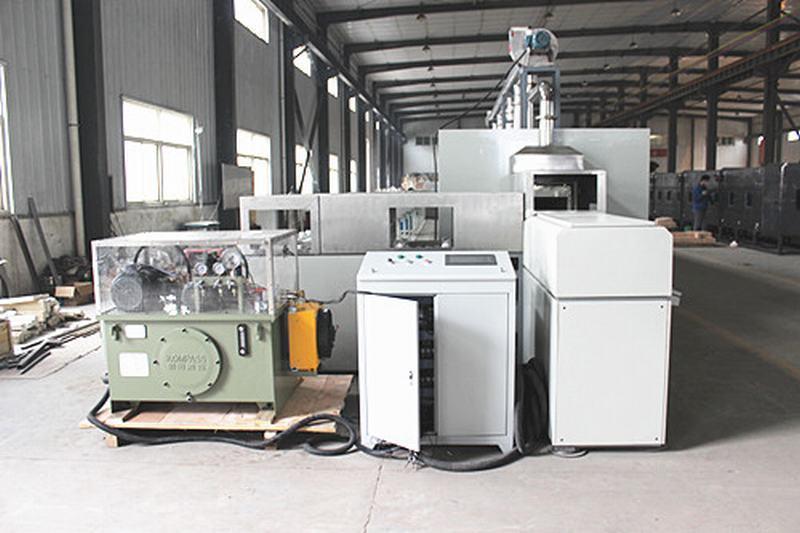 Automatic heat plate furnace
