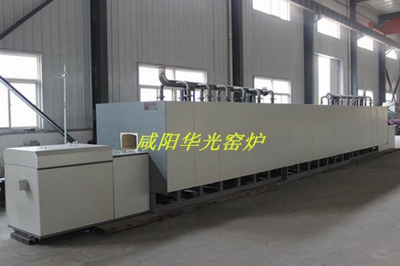 High temperature pushing plate furnace