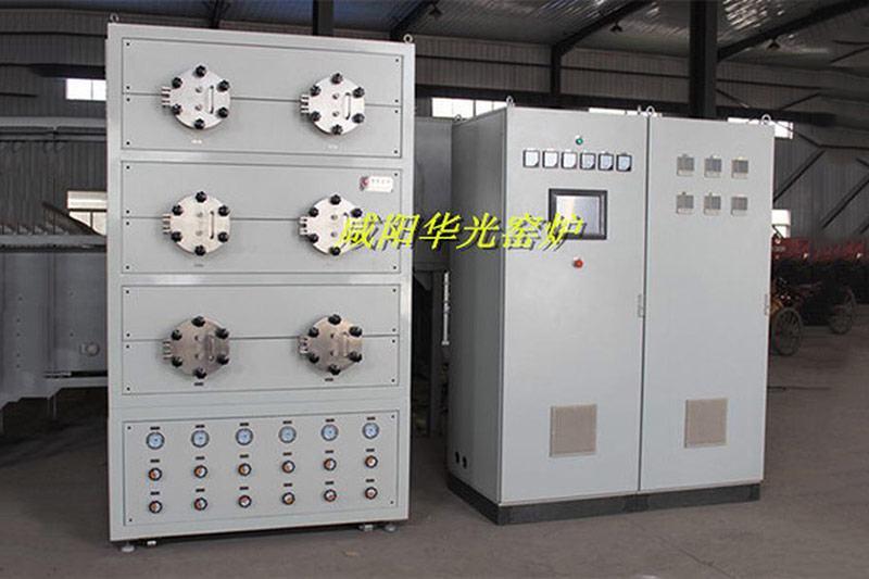 Six tube vacuum annealing furnace