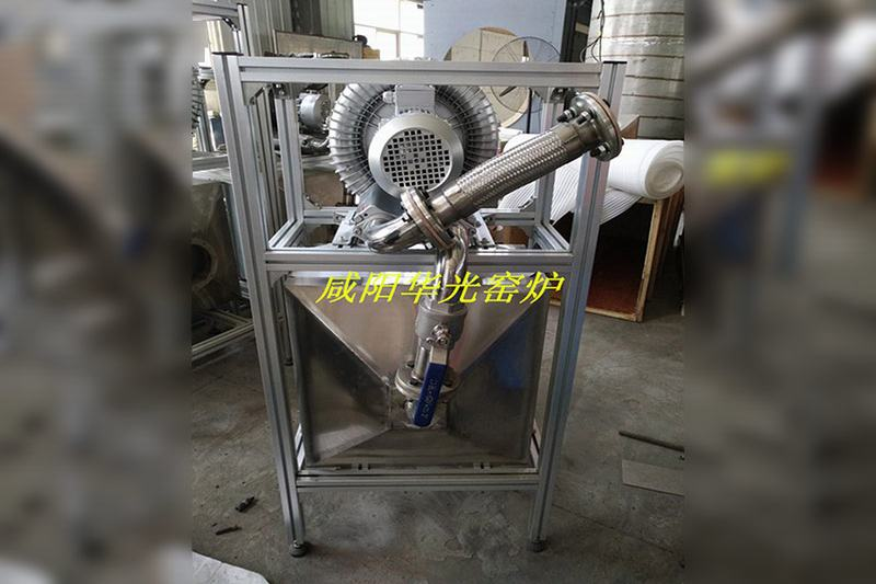 AB rubber combined row sintering push plate furnace