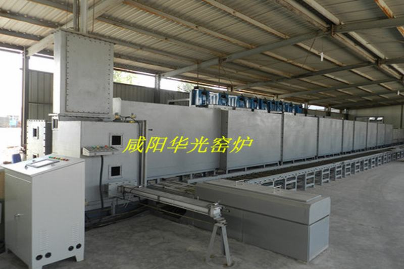 Automatic protection tunnel furnace atmosphere